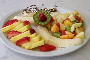 Chiosco bar cocomero anghiari arezzo - Piatti di frutta decorati ...